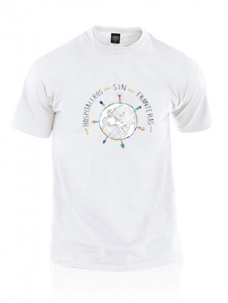 Camiseta Solidaria Hospitaleros Sin Fronteras