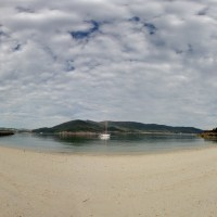 Playa de O Vidrieiro en O Vicedo