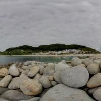 Playa y puerto de Bares