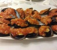 Fiesta del mejillón en Fontiñas (Lugo)