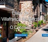De Villafranca del Bierzo a O Cebreiro