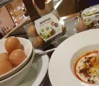 Una combinación perfecta: huevo a baja temperatura y María Varela