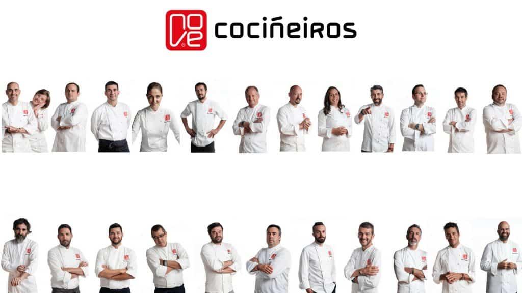Grupo Nove 24 cocineros y 18 restaurantes para difundir la gastronomía gallega 1920