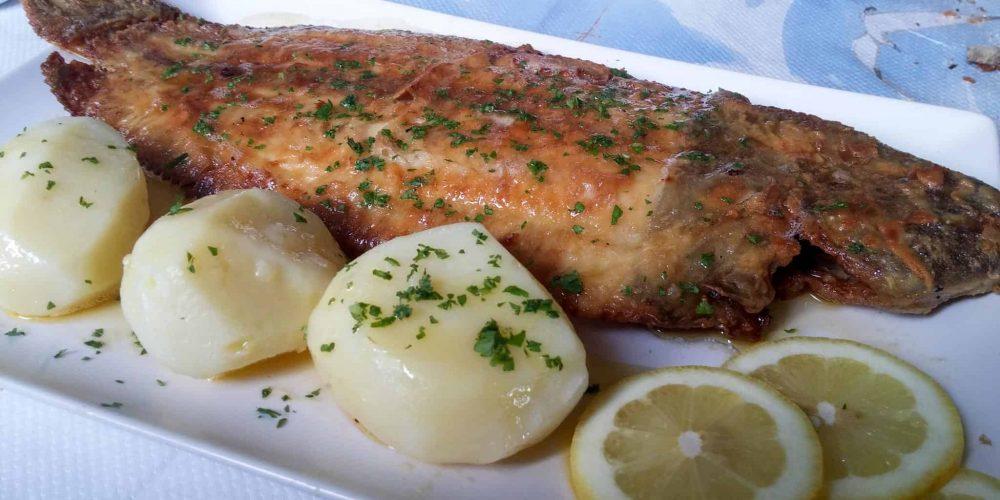 Lenguado y más en restaurante A Goleta en O Barqueiro (A Coruña)
