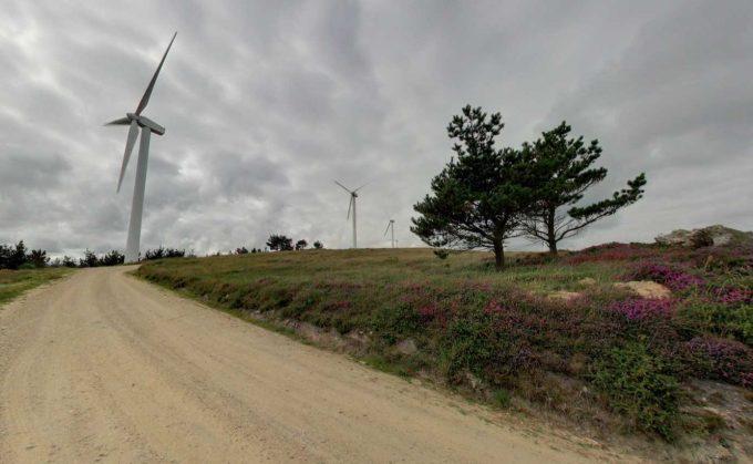 Parque eólico de A Coriscada