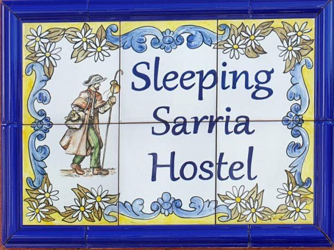 Sleeping Sarria